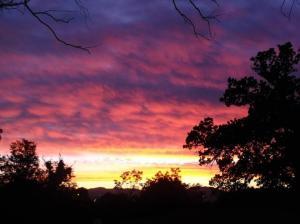 Sun Rising over Qwa Qwa